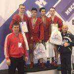 Самарские спортсмены призеры Первенства России по самбо