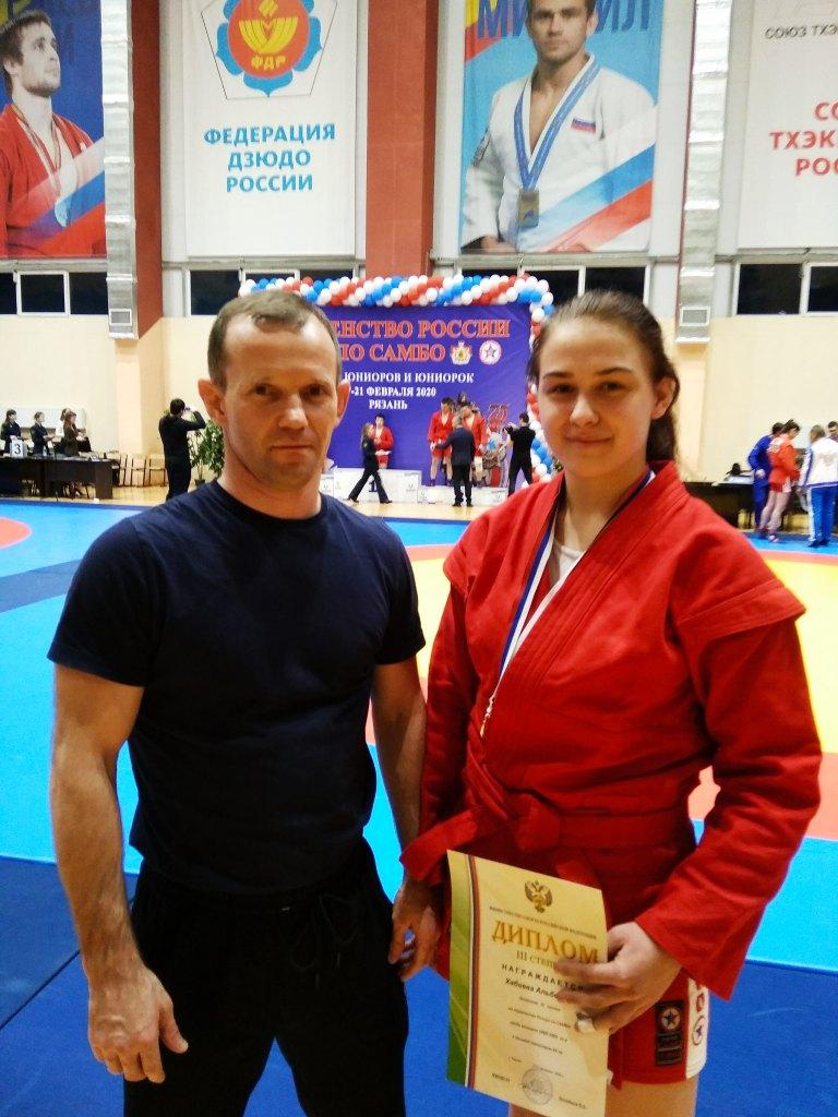 Хабиев призер Первенства России по самбо